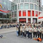 """Flashmobs der DPSG mobilisierte zahlreiche """"Aktivisten"""""""