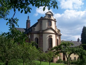 Die Abteikirche von Himmerod
