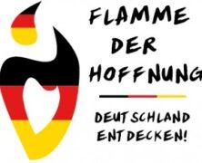 Die Flamme der Hoffnung