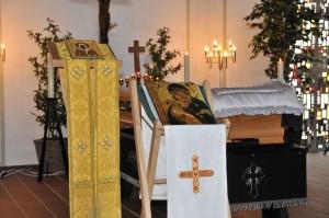 Abschied von Axi in der Friedenskapelle zu Weroth