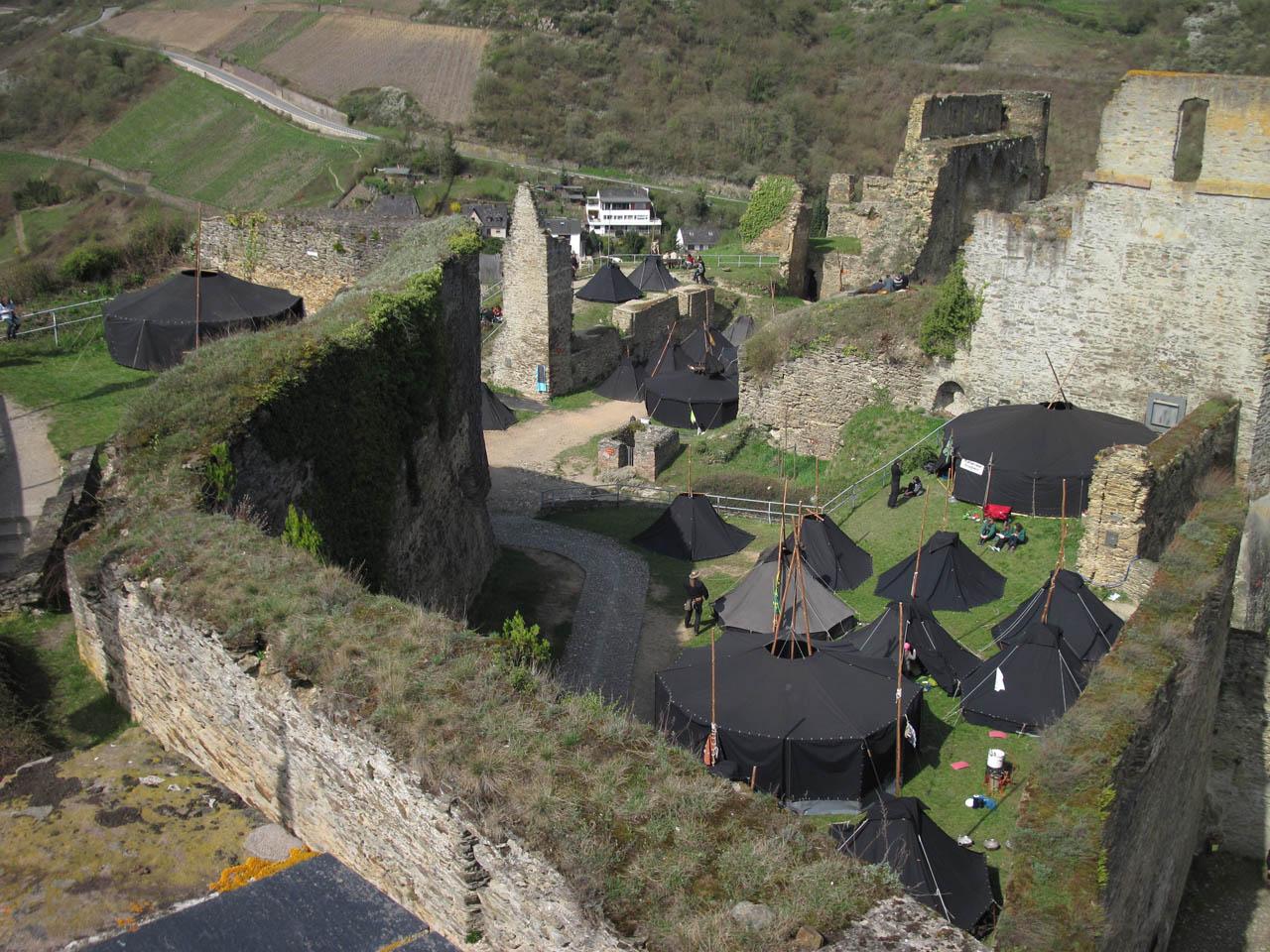 Prinz fordert Burg Rheinfels in Sankt Goar zurück!