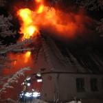 """Hauptgebäude von """"Tydal"""" abgebrannt!"""