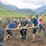 Lëtzebuerger Guiden a Scouten forsten Nord-Vietnam auf