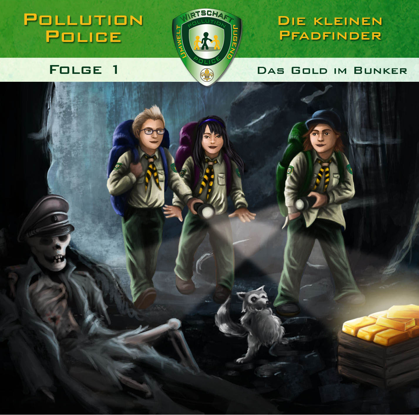 Pollution Police Das Gold im Bunker