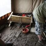 Nach der Flut bleibt der Schlamm. Bild: DPSG