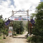 Das Eingangstor zum 1. panamerikanischen Rovermoot