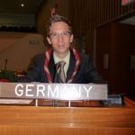 Pfadfinder wurde UN-Jugenddelegierter für Deutschland