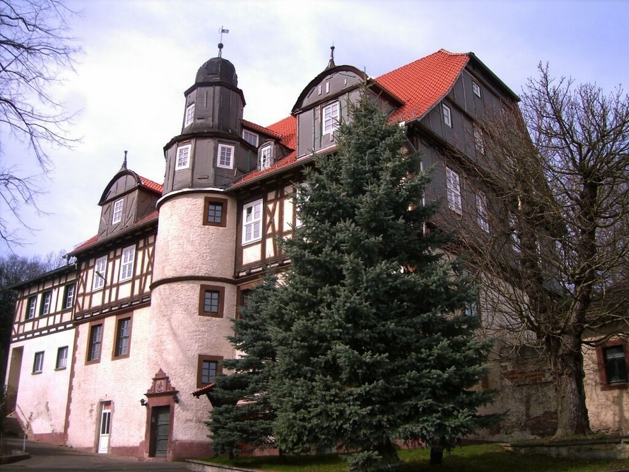 Flüchtlinge auf Schloss Martinfeld