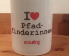 """Bei 400 """"Gefällt mir"""" gibts eine I-love-Pfadfinderinnen-Tasse"""