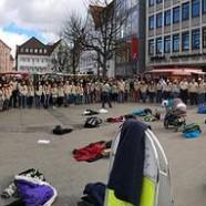 Thinking Day mit Flashmob gefeiert