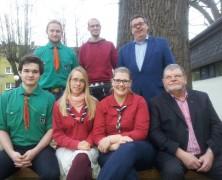 Heliand-PfadfinderInnen mit neuem Vorstand