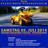 Beim großen Preis von Pfeddersheim brennt der Asphalt