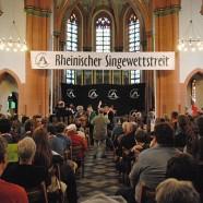 Die Sieger des 21. Rheinischen Singewettstreites