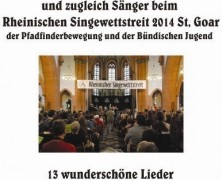 St. Goar: Gesang der Zuhörer CD-würdig