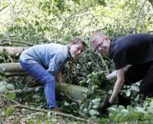 Windhose verwüstete Pfadfinder-Zeltgelände in Harsefeld