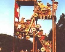 Selbstgebauter Holzturm brach zusammen