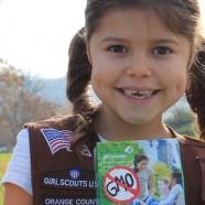 7-jährige Pfadfinderin möchte GVO-freie Kekse