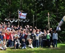 Jubiläumsfeier der Georgspfadfinder in Senden