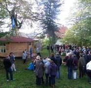 Traditionell gebautes Pfadfinderheim eingeweiht