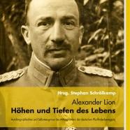 neuerscheinung alexander lion hhen und tiefen des lebens - Alexander Der Grose Lebenslauf