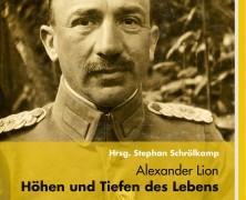 """Neuerscheinung: """"Alexander Lion – Höhen und Tiefen des Lebens"""""""