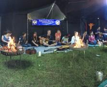 Musikalische Runde beim BdP Stamm Silberreiher in Eberbach