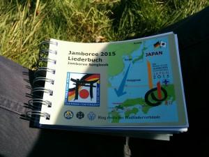 Das neue gemeinsame Liederbuch von BdP, VCP und DPSG zum World Scout Jamboree 2015 in Japan