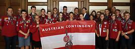 BILD zu OTS - Verabschiedung Delegation Jamboreeteilnehmer durch Au§enminister Sebastian Kurz
