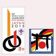 Gemeinsame Jamboreevorbereitung  Vorlager in Immenhausen