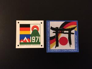 Contingentsabzeichen Japan