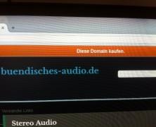 Domain Bündisches Audio steht zum Verkauf