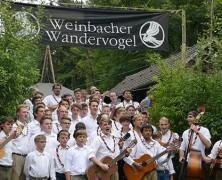 Wiesenfest des Weinbacher Wandervogels
