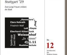 Neuerscheinung: Stuttgart '29