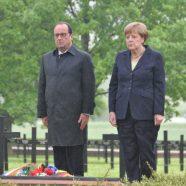 Pfadfinder bei Gedenkfeier zur Schlacht von Verdun