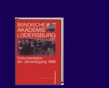 Buchvorstellung: Bündische Akademie Lüdersburg Dokumentation 1996