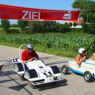 So war das 14. Straßkirchener Seifenkistenrennen