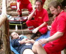 Bergwacht: Pfadfinder mit Dauererbrechen geborgen