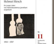 Buchvorstellung: Helmut Hirsch – Ein junges Leben vom Nationalsozialismus gewaltsam ausgelöscht