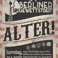 In zehn Tagen startet der Berliner Singewettstreit!
