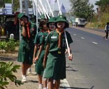 Fotos von thailändischen Pfadfindern