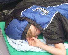 Pfadfinder schlafen besser