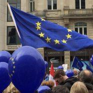 """Pfadfinder beim """"Pulse of Europe"""" in Mainz"""
