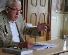 Lesung von Oskar Kröher