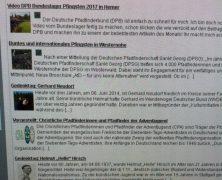 Scouting-Meldungen auf EURER Homepage einbinden