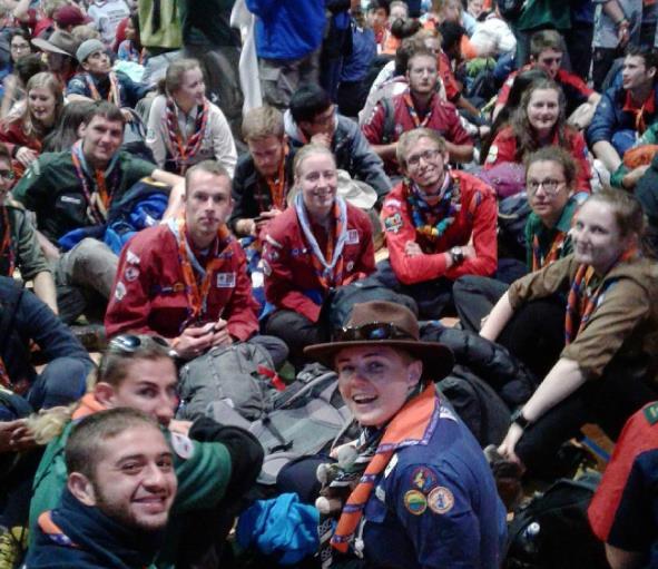 World Scout Moot Island Eröffnung 6