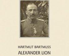 Neuerscheinung zu Alexander Lion