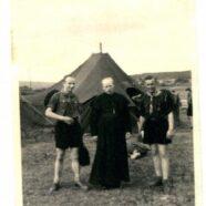Heinz Hoffmann bei einem Lager in Gleusdorf