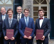 Pfadfinder unter den Preisträgern: Otto-Junker-Preis 2017