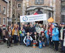 Friedenslicht 2017:  Aussendungsgottesdienst im Aachener Dom