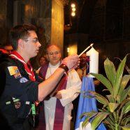 Aussendungsfeier des Friedenslichts in Aachen